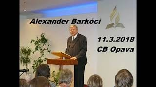 Barkóci Alexander / Alexander Barkóci - 11.3.2018 (CB Opava)