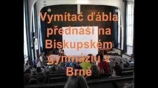 Kodet Vojtech / Exorcista Vojtěch Kodet přednáší na Bigy Brno 2007