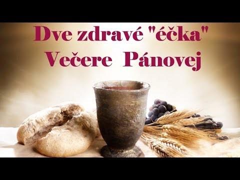 Haľko Jozef / Evanjelium a Eucharistia: to sú zdravé éčka obsiahnuté vo Večeri Pánovej