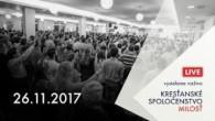 Kresťanské spoločenstvo Milosť / Bohoslužby Banská Bystrica 26.11.2017