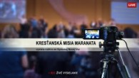 Kresťanská Misia Maranata / Živé vysielanie nedeľnej služby 16.12.2018