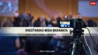 Kresťanská Misia Maranata / Živé vysielanie nedeľnej služby 29.09.2019