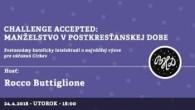 Bratislavské Hanusove Dni 2018 / Challenge accepted: Manželstvo v postkresťanskej dobe │ Rocco Buttiglione (I) │ 24.04.2018