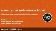 Bratislavské Hanusove Dni 2018 / Pomoc, ktorá môže niekedy škodiť │ Beňová, Dudová, Kákoš, Oláh │ 28.04.2018