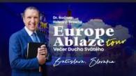 Kresťanské spoločenstvá - konferencie / Europe Ablaze Tour Slovensko