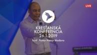 Kresťanské spoločenstvá - konferencie / Kresťanská konferencia Banská Bystrica 26.1.2019 - ráno