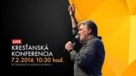 Kresťanské spoločenstvá - konferencie / Kresťanská konferencia Banská Bystrica 7.2.2016