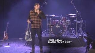 Slovák Julo / Godzone message XXL | Julo Slovák - Masky musia odísť