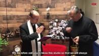 Haľko Jozef / Mons. Jozef Haľko požehnal štúdio LUX New York
