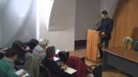 Katolícka večerná univerzita / Prednáška: Sviatosť zmierenia. Autor: Vladimír Juhás