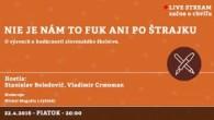 Bratislavské Hanusove Dni 2016 / Nie je nám to fuk ani po štrajku │ Stanislav Boledovič, Vladimír Crmoman │ 22.04.2016