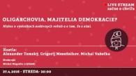 Bratislavské Hanusove Dni 2016 / Oligarchovia, majitelia demokracie? │ Tomský, Mesežnikov, Vašečka │ 27.04.2016