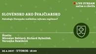 Bratislavské Hanusove Dni 2017 / Slovensko ako Švajčiarsko │ Miroslav Beblavý, Richard Rybníček, Veronika Remišová │ 25.04.2017