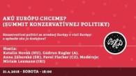 Bratislavské Hanusove Dni 2018 / Akú Európu chceme? │ Novák(HU), Kugler(A), Záborská(SK), Fischer(CZ), Lexmann(IRI) │ 21.4.2018