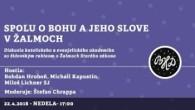 Bratislavské Hanusove Dni 2018 / Spolu o Bohu a jeho slove v žalmoch │ Hroboň, Kapustin, Lichner SJ, Chrappa │ 22.04.2018
