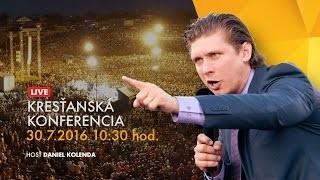 Kříž Jaroslav / Prvé evanjelizačné kázanie Daniela Kolendu na Štiavničkách